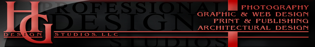 HG Design Studios, LLC Logo Banner
